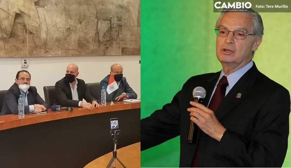 Anuncia nuevo patronato de la UDLAP destitución del rector Derbez por corrupción