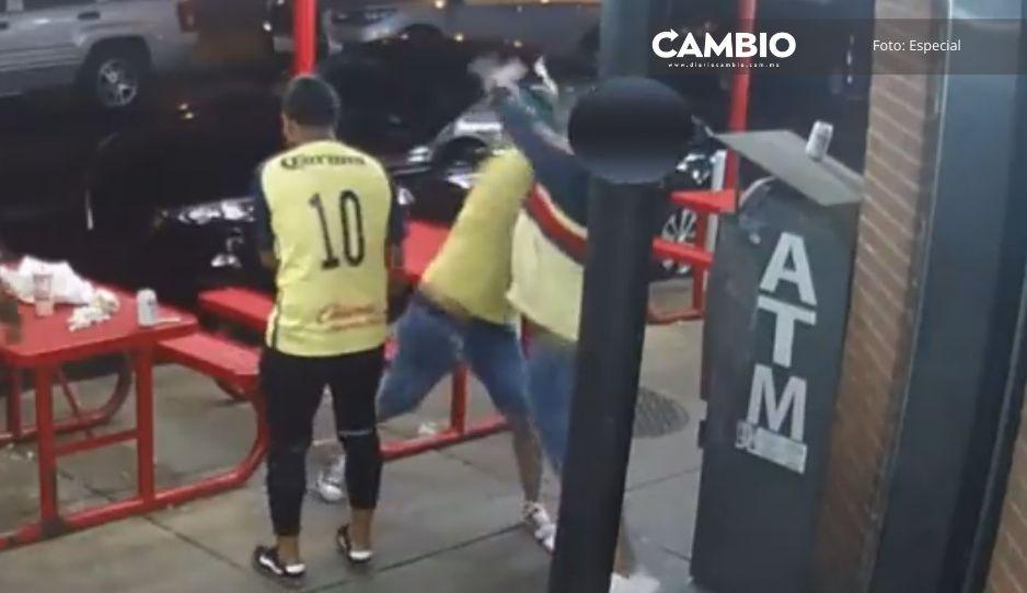 Se entregan 2 hooligans del América que golpearon hasta la muerte a hincha