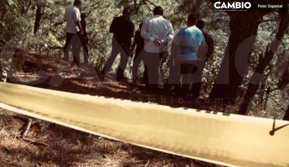 Acribillan a joven en La Cuesta y arrojan su cuerpo en barranca de Zacatlán