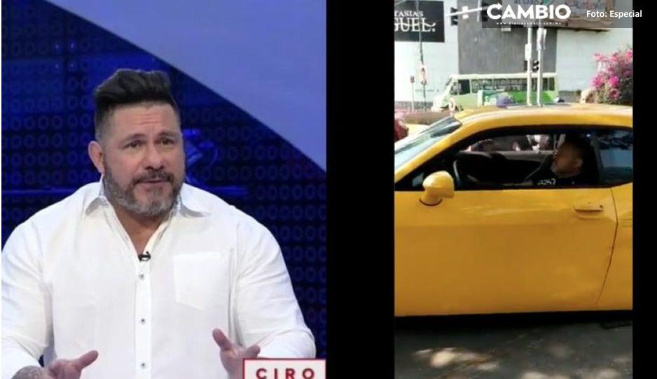 David Páramo perdió la conciencia mientras conducía, aclara Ciro Gómez Leyva