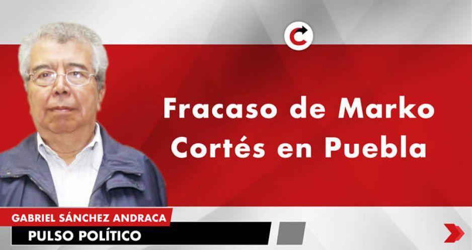 Fracaso de Marko Cortés en Puebla