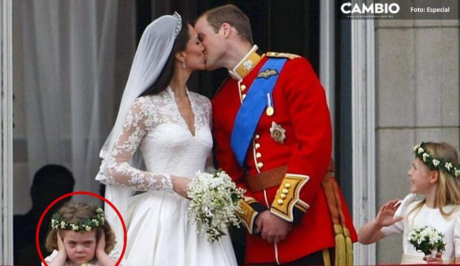 ¡10 años después! Así luce la niñita que casi arruina la boda de Kate y William (FOTOS)