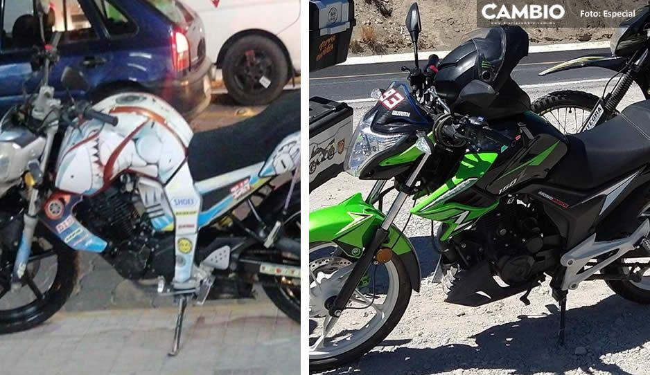 Se desatan robos de motocicletas en Tehuacán; autoridades culpan a ciudadanos por no colocarles dispositivos de seguridad