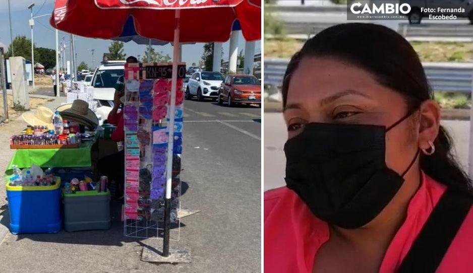 De vendedora en conciertos a sacacopias afuera del CESSA: así es como María Luisa sobrevive la pandemia