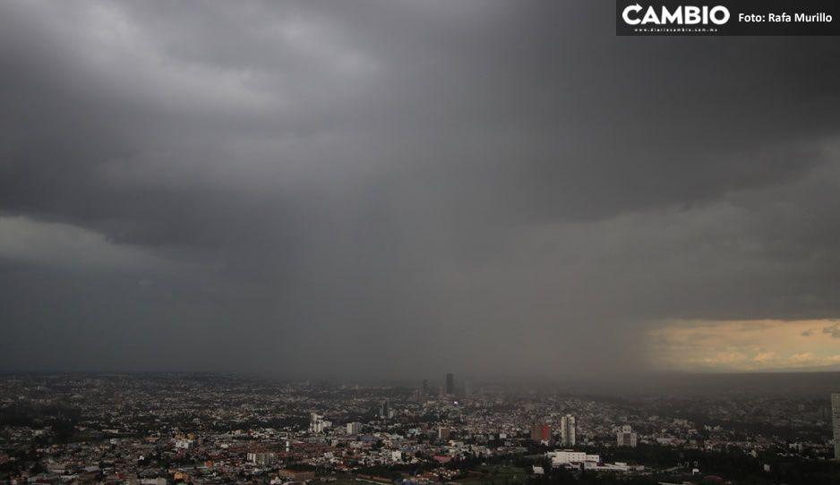 ¡No guardes el paraguas! Pronostican lluvias en la Sierras Norte, Nororiental y Negra