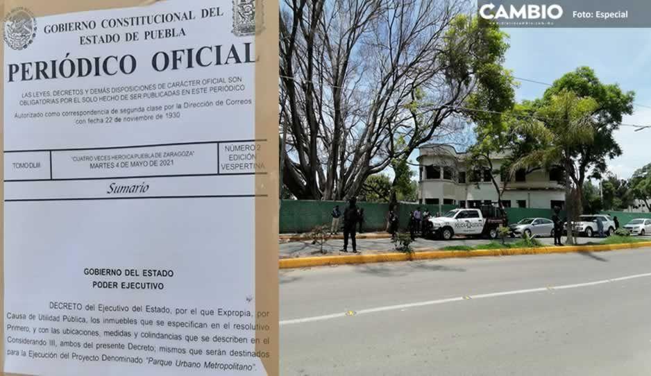 Gobierno estatal expropia Los Bungalows para Parque Metropolitano en Tehuacán