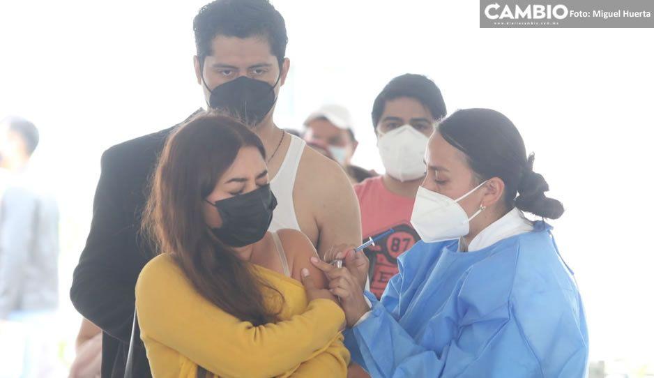 Hospital del Niño Poblano en calma; reportan poca afluencia en vacunación antiCovid (FOTOS)