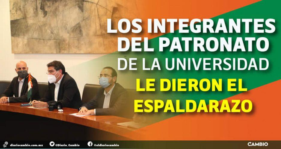 Presentan a El Jaguar como nuevo rector de la Universidad de las Américas Puebla (FOTOS Y VIDEOS)