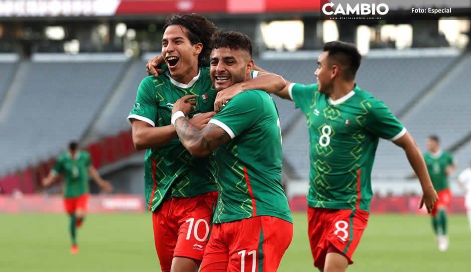 México golea 4-1 a Francia e ilusiona con el oro en  Juegos Olímpicos