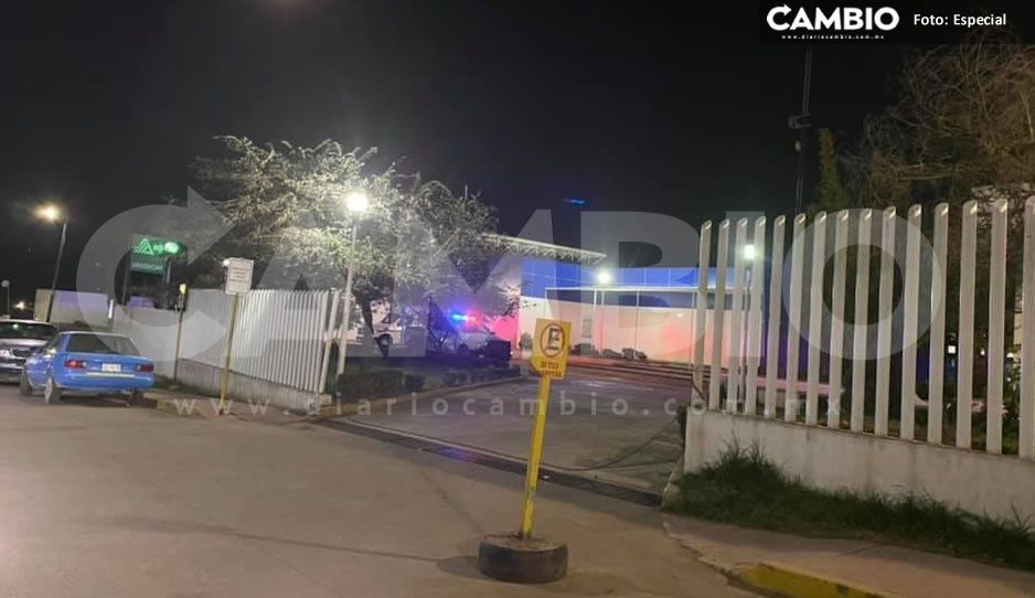 ¡Noche de terror! Balacera deja un guardia herido en el Hospital General de Zacatlán
