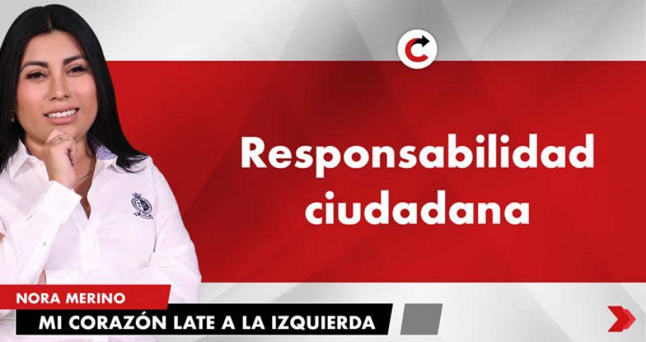 Responsabilidad ciudadana