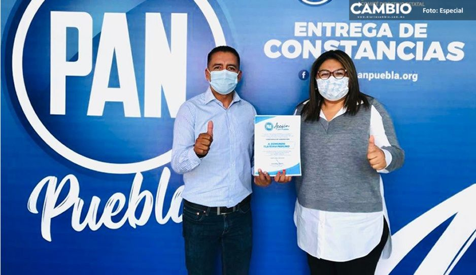 ¡No hay marcha atrás! PAN ratifica a Tlatehui como candidato a la alcaldía de San Andés Cholula