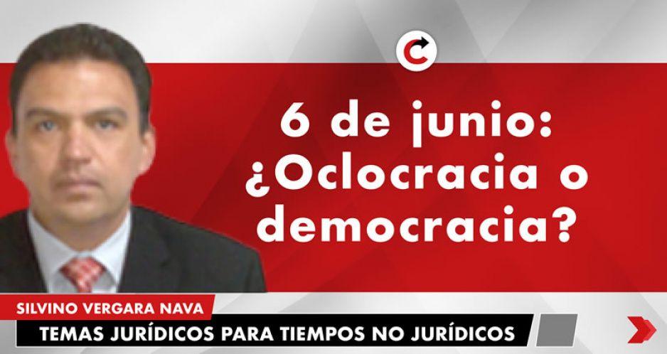 ¿Oclocracia o democracia?