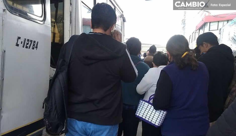 Jueves de asalto a transporte público; atracan la ruta 72A y la ruta 68