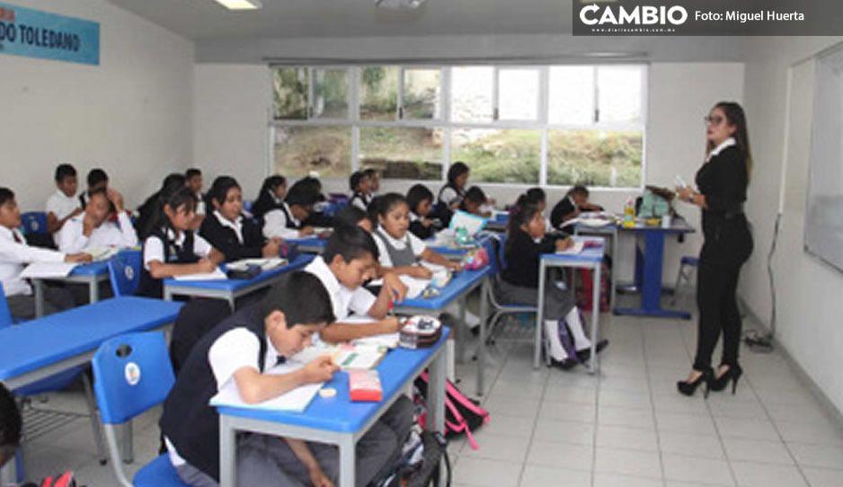 A siete días del regreso a clases presenciales, SEP confirma dos casos Covid en estudiantes poblanos