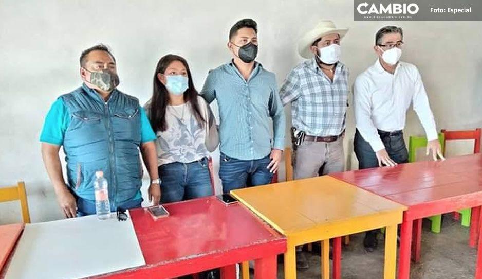 Vecinos de Juan C. Bonilla exigen a gobierno liberar la federal México-Puebla