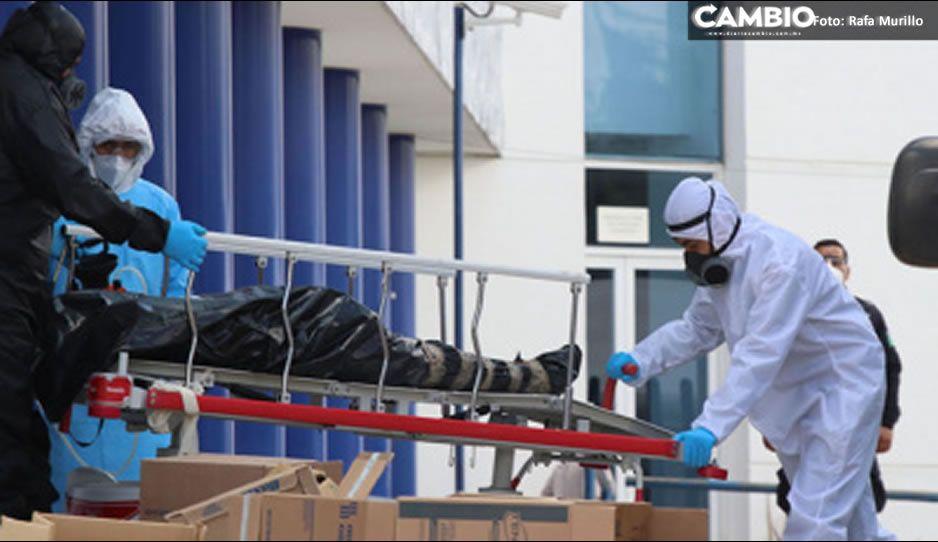 Día negro: 85 fallecimientos por coronavirus en Puebla, pico máximo de la segunda oleada