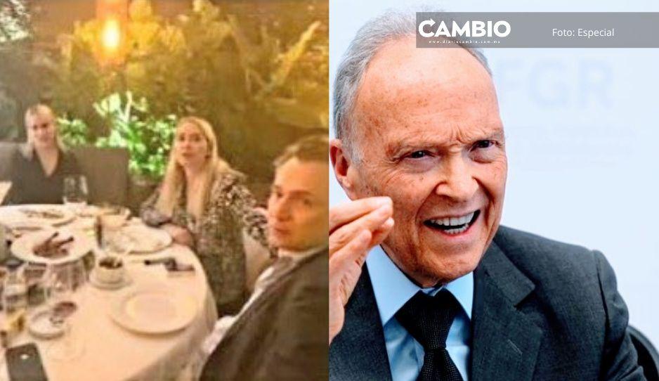 FGR defiende investigación sobre Odebrechttras filtración de fotos de Loyoza cenando