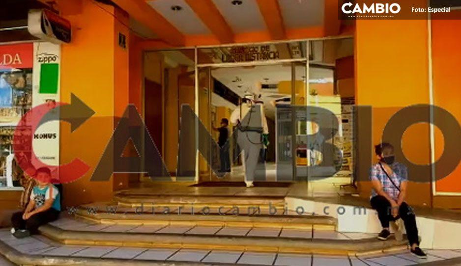 Muere viejita de un infarto en plaza comercial de Huauchinango