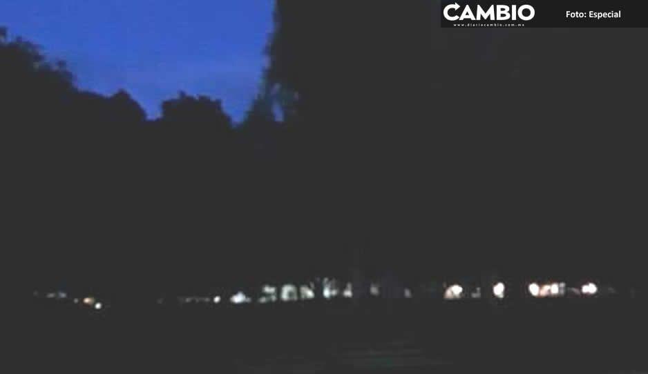En penumbra 12 espacios públicos en Tehuacán tras robo de instalaciones eléctricas
