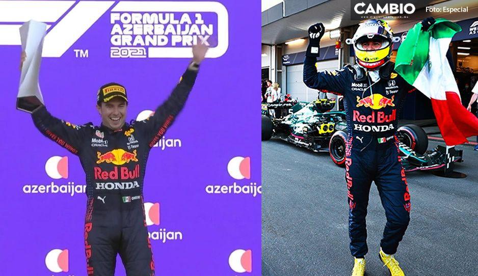 ¡Victoria de Checo Pérez! Ganó el Gran Premio de Azerbaiyán (VIDEO)