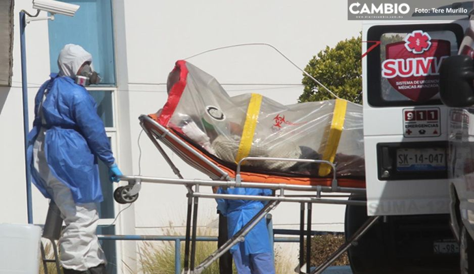Sábado: Federación reporta 67 muertos más en Puebla por COVID