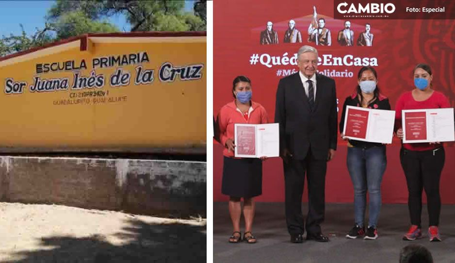 Escuelas poblanas que ganaron el cachito del avión presidencial todavía no reciben el premio