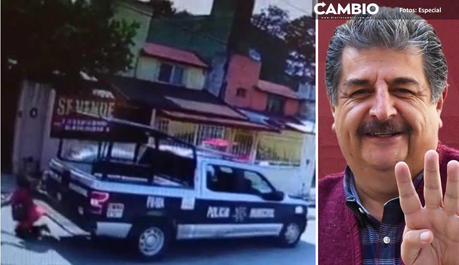 Gustavo Vargas se esconde para no pagar gastos médicos de maestra atropellada por policías municipales