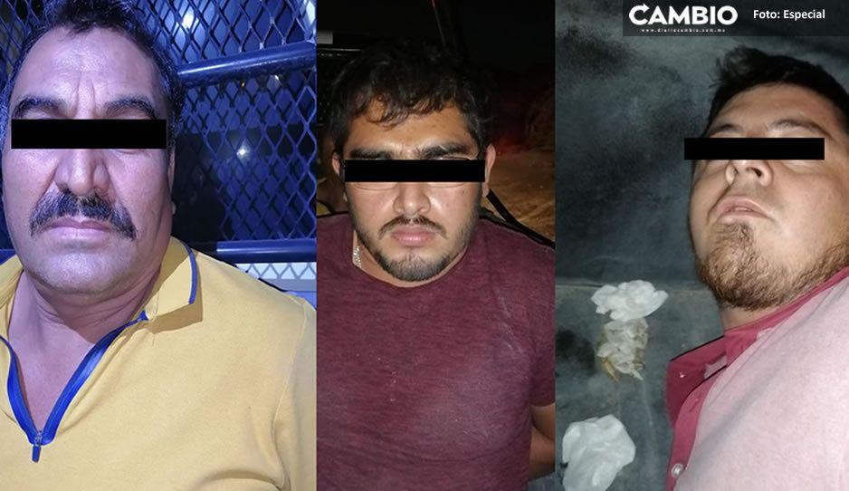 """Detienen a tres hombres por """"echar tiros"""" en Tehuacán"""