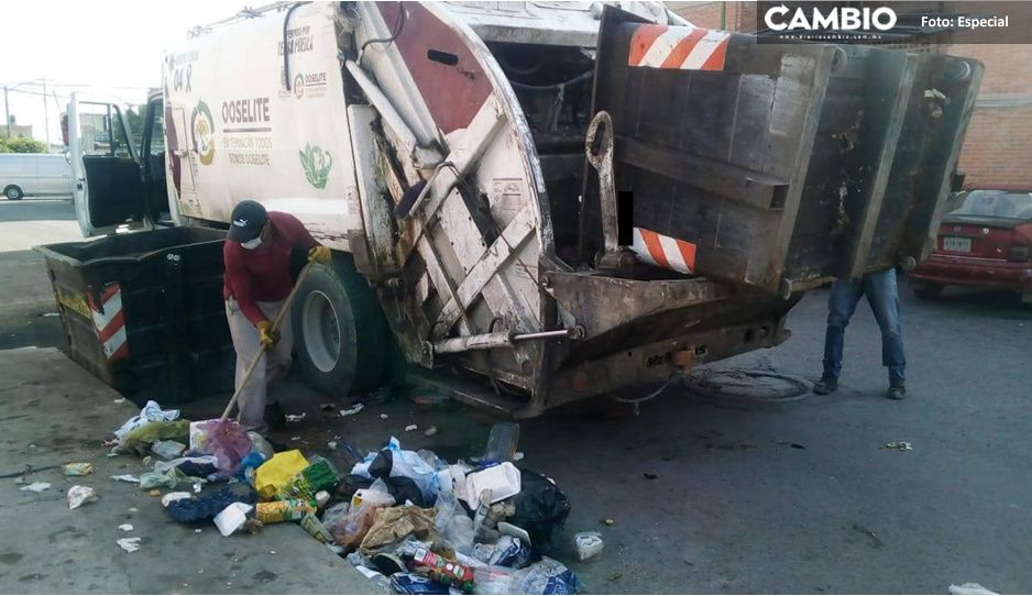 Artemio Caballero analiza cobrar uso de suelo a empresa de recolección de basura Tersa