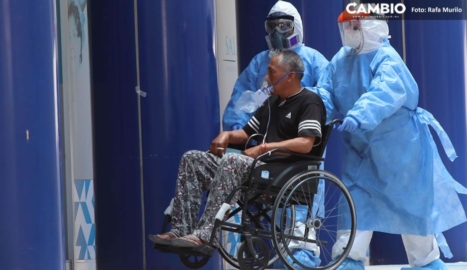 Puebla con 99 nuevos contagios, 10 muertes y 781 hospitalizados por COVID