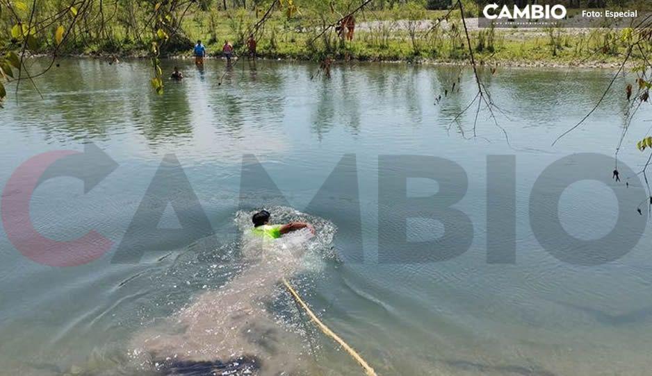 Muere ahogado jovencito de 17 años de edad en el río San Marcosen Xicotepec