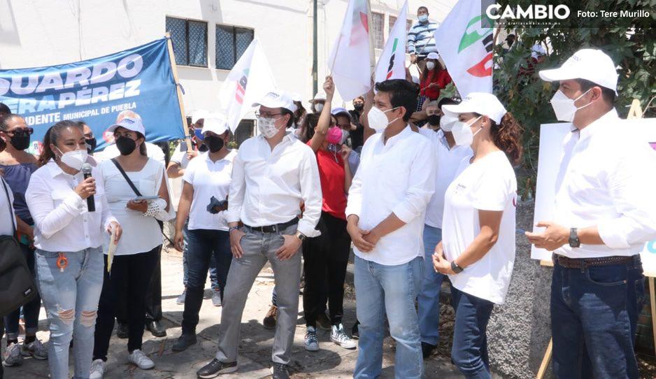 Vecinos de la Margarita se quejan con Lalo: Claudia prometió y nunca regresó (VIDEO)