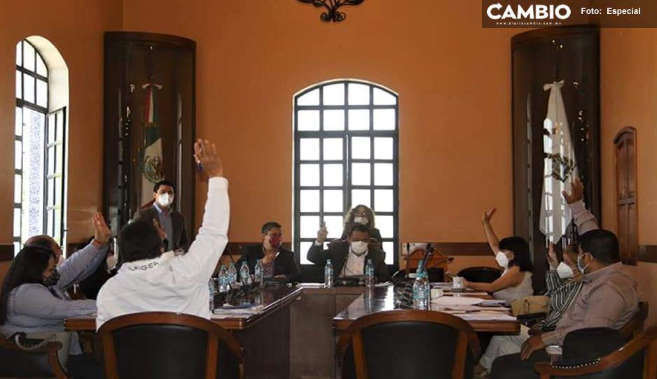Regidores de Tehuacán exigen a Artemio Caballero transparentar información de la comuna