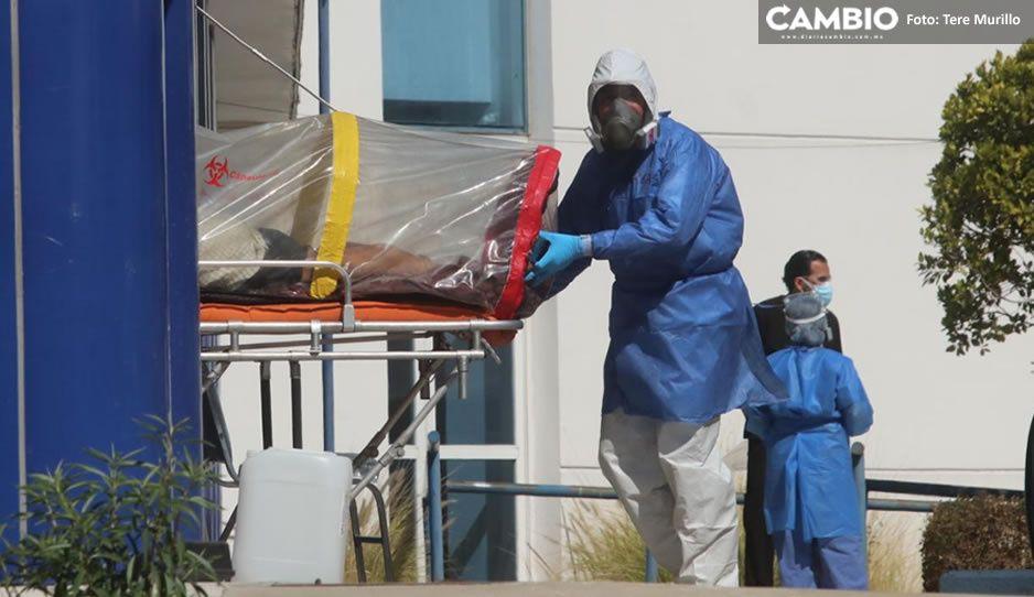 Con 559 nuevos infectados, Puebla rompe la barrera de los 110 mil contagios COVID