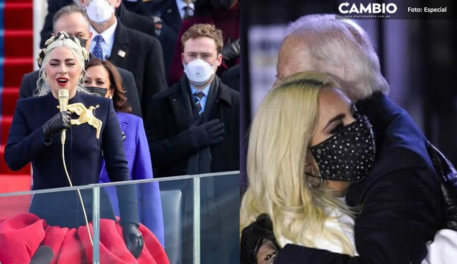 Así interpretó Lady Gaga el himno en toma de posesión de Joe Biden (VIDEO)