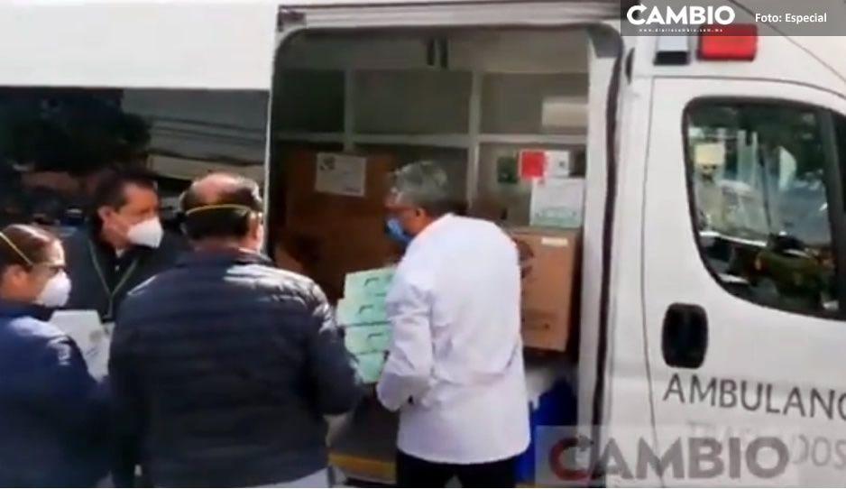 ¡Habemus vacuna! Después de 3 horas, llega segunda dosis de Pfizer para personal del IMSS La Margarita