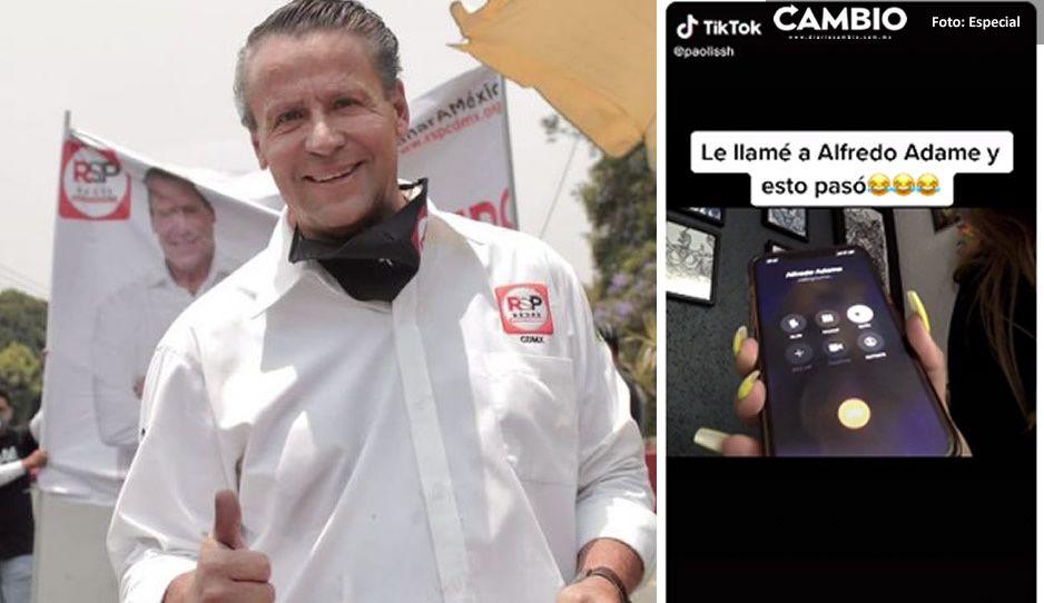 VIDEO: Alfredo Adame manda 'mentadas' personalizadas; video de TikTok se hace viral