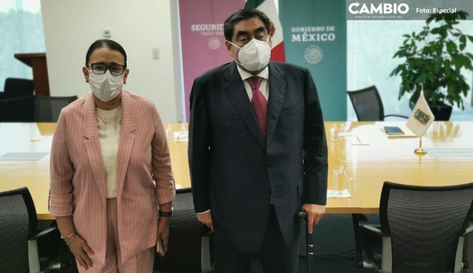 Refuerzan Puebla y federación lucha contra crimen organizado y huachicoleo
