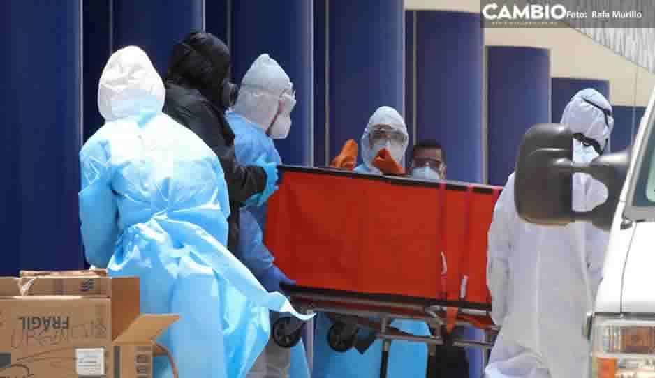 ¡Terrorífico! Puebla supera los 77 mil contagios y 10 mil 500 muertos por COVID