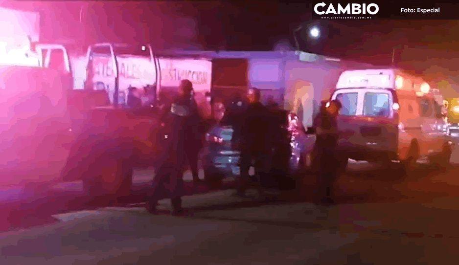 Muere pasajero tras asalto a transporte público en Tehuacán