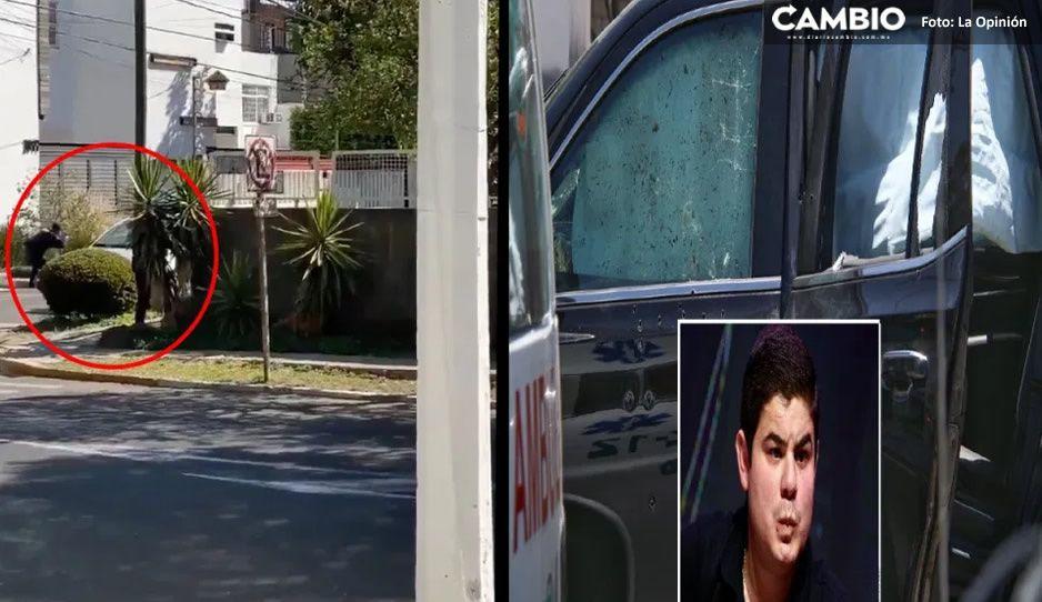 FUERTES IMÁGENES: Captan momento exacto de balacera en zona donde ejecutaron a hermano de Alfredito Olivas