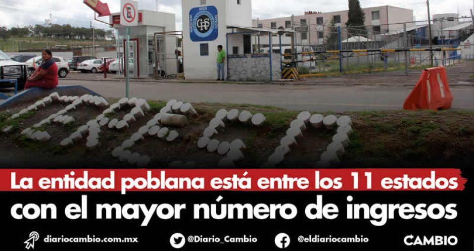 Ocho delincuentes al día entraron a las cárceles de Puebla durante 2020