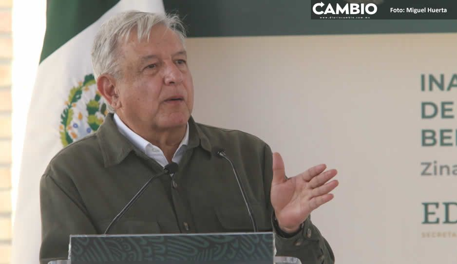 Sube a 61 % la aprobación de AMLO en Puebla durante marzo, mes de la vacuna
