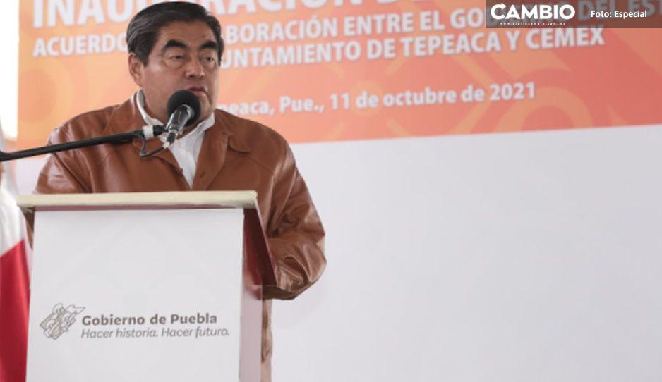 Arrancan trabajos de construcción del IEDEP en Yehualtepec