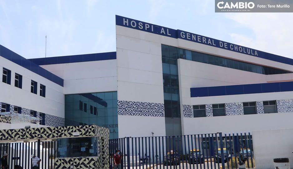 Desconversión inicia el lunes, sólo el Hospital de Cholula quedará como clínica COVID: SSA