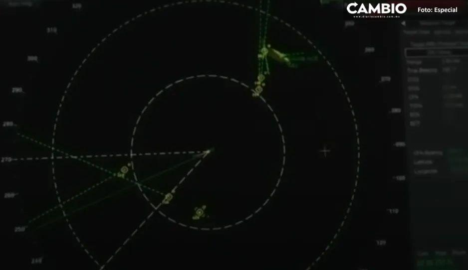 ¡Confirmado! Pentágono revela que VIDEO del 'enjambre de ovnis' es real
