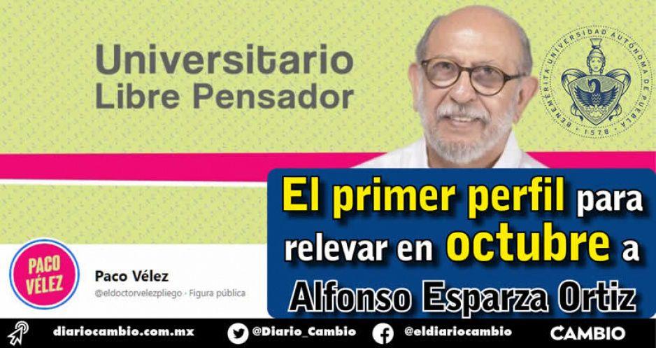 Paco Vélez arranca sucesión en la BUAP: lanzan página promocional (VIDEO)