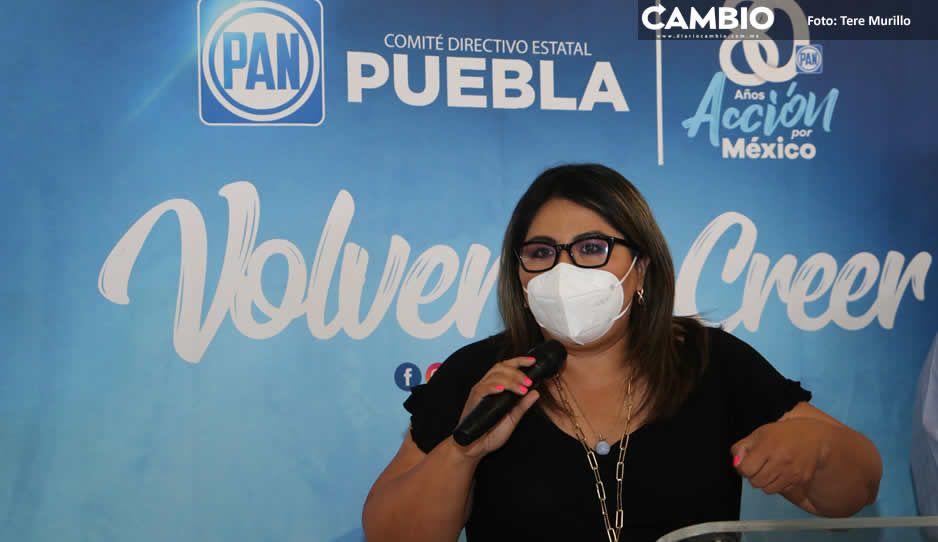 Genoveva lanza campaña de reafiliación al PAN para que no pierda su registro nacional