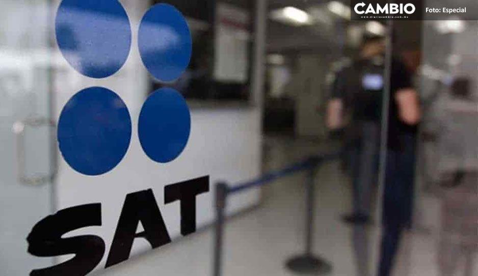 SAT reporta otras dos empresas fantasmas en Puebla ¡Suman cinco compañías fraudulentas!